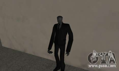 Slender Man para GTA San Andreas segunda pantalla