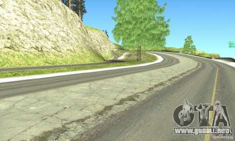 Real HQ Roads para GTA San Andreas sexta pantalla