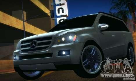 Mercedes-Benz GL500 V.2 para GTA San Andreas vista posterior izquierda