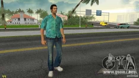 Tommy HQ Model para GTA Vice City quinta pantalla
