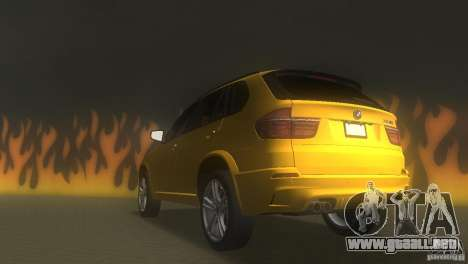 BMW X5 para GTA Vice City vista lateral izquierdo
