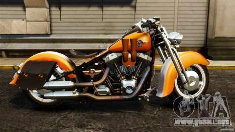 Harley Davidson Fat Boy Lo Vintage para GTA 4 left