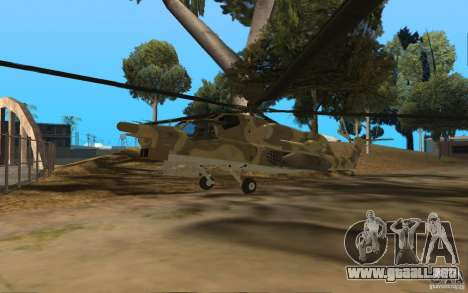 MI-28n para GTA San Andreas
