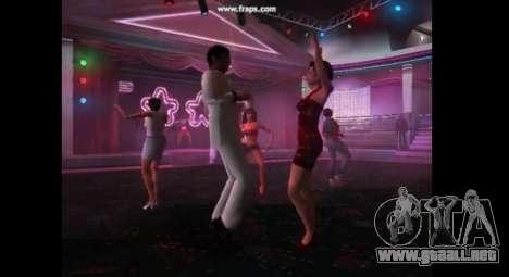 Danza mod para gta vice city para GTA Vice City sucesivamente de pantalla