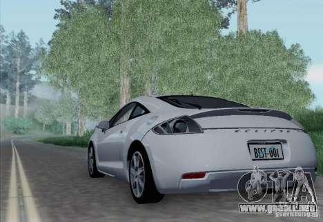 Mitsubishi Eclipse GT V6 para la visión correcta GTA San Andreas