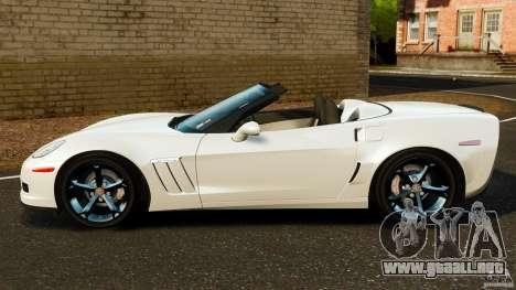 Chevrolet Corvette C6 2010 Convertible para GTA 4 left