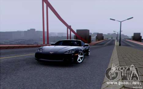 Carretera HD v3.0 para GTA San Andreas novena de pantalla