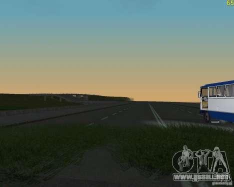 Terminada la construcción de la carretera a Rusi para GTA San Andreas segunda pantalla