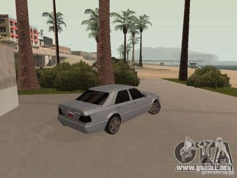 Mercedes-Benz E420 AMG para visión interna GTA San Andreas