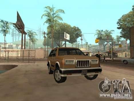 Landstalker nuevo para vista lateral GTA San Andreas