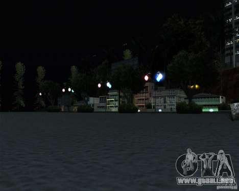 Modern beach in Los-Santos para GTA San Andreas sucesivamente de pantalla