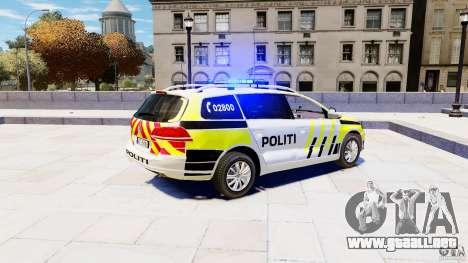 Volkswagen Passat B7 Variant 2012 para GTA 4 left