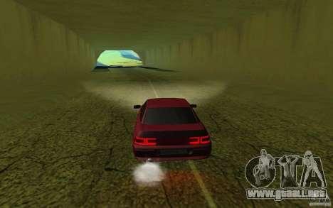 VAZ 2110 para GTA San Andreas vista posterior izquierda