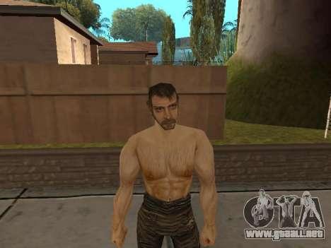 Pak pieles de Gothic 1 para GTA San Andreas tercera pantalla