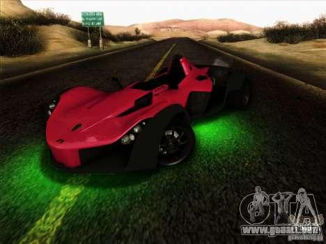 BAC MONO para visión interna GTA San Andreas