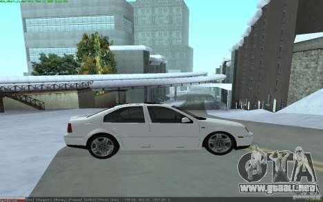 Volkswagen Bora 1.8 para GTA San Andreas left