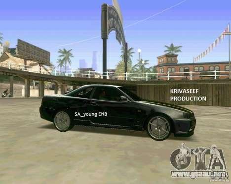 Young ENBSeries para GTA San Andreas séptima pantalla