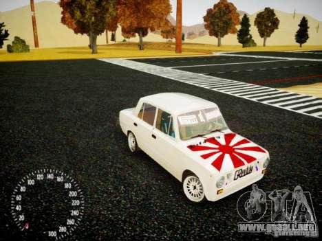 Edición de VAZ-2101 Drift para GTA 4 vista lateral