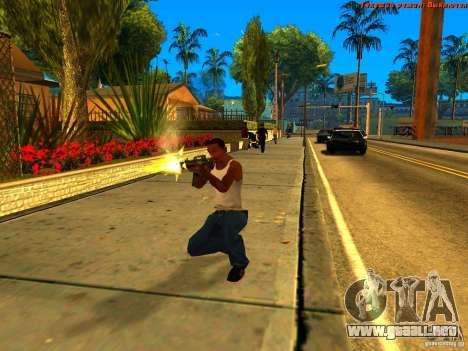 New Animations V1.0 para GTA San Andreas sexta pantalla