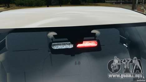 Chevrolet Impala Unmarked Detective [ELS] para GTA 4 interior