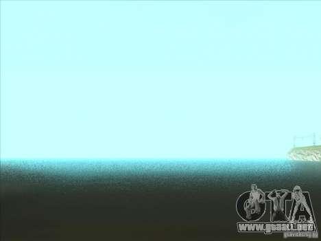 ENBSeries v1.0 para GTA San Andreas sucesivamente de pantalla