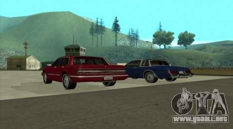 New Majestic para GTA San Andreas left