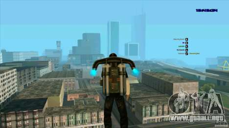 Ed Hardy para GTA San Andreas sucesivamente de pantalla