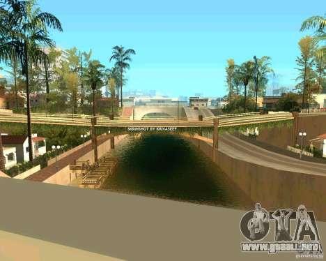 Young ENBSeries para GTA San Andreas segunda pantalla