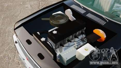 FBI Gaz-3102 para GTA 4 vista hacia atrás