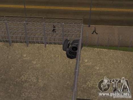 Bus Parque versión v1.2 para GTA San Andreas tercera pantalla