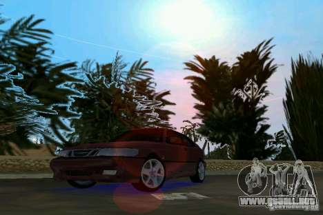 Saab 9-3 Aero 3-door 1999 para GTA Vice City left