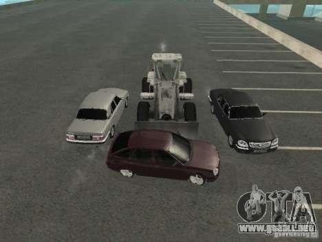 Volga GAZ 31105 para vista lateral GTA San Andreas