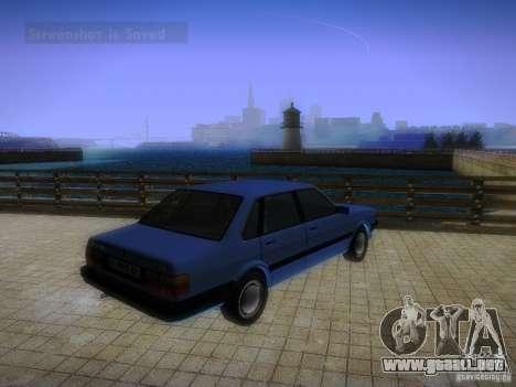 Audi 80 1987 V1.0 para la visión correcta GTA San Andreas