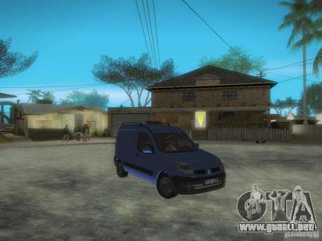 Renault Kangoo II Stock para visión interna GTA San Andreas