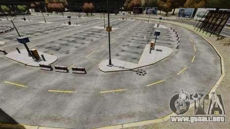 Deriva-pista en el aeropuerto para GTA 4 octavo de pantalla