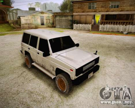 Daihatsu Taft Hiline Long para GTA San Andreas left