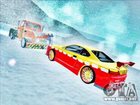 Nissan Silvia S15 Calibri-Ace para la vista superior GTA San Andreas