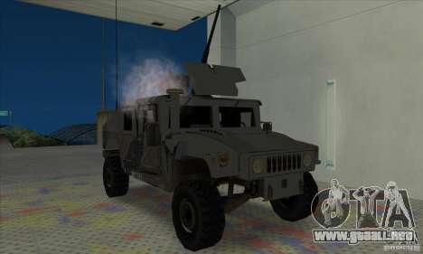 Humvee of Mexican Army para GTA San Andreas left