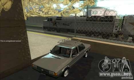 Volkswagen Jetta MK1 para visión interna GTA San Andreas