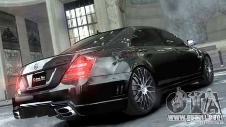 Mercedes-Benz S-Class W221 Black Bison 2009 para GTA 4 left