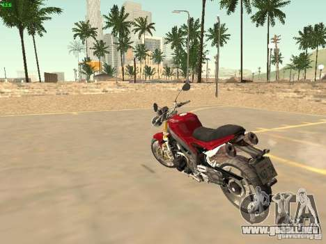 Bike Triumph para GTA San Andreas left