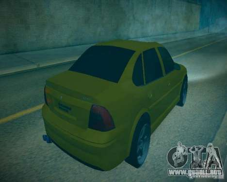 Opel Vectra B para visión interna GTA San Andreas