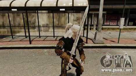 Espada de la v1 de brujo para GTA 4 segundos de pantalla