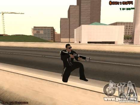 Gray weapons pack para GTA San Andreas tercera pantalla