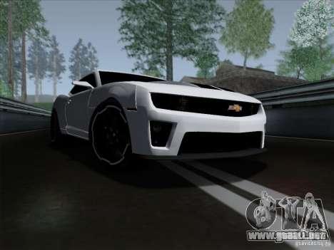 Chevrolet Camaro ZL1 2012 para GTA San Andreas
