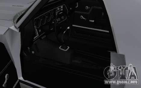 Chevrolet El Camino SS para la visión correcta GTA San Andreas
