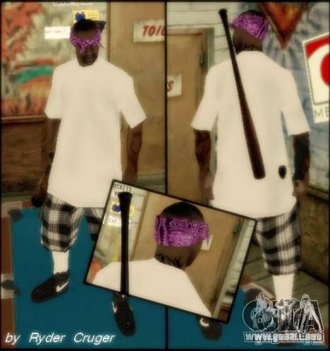 Ballas by R.Cruger para GTA San Andreas