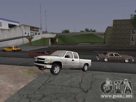 Chevorlet Silverado 2000 para GTA San Andreas left