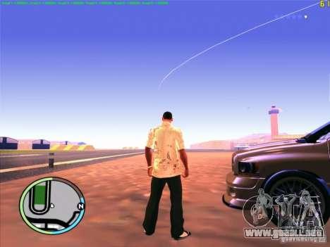 FPS De-Limiter CLEO para GTA San Andreas sucesivamente de pantalla