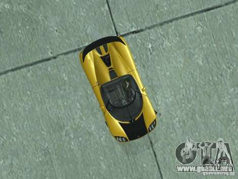 Koenigsegg Agera para la visión correcta GTA San Andreas
